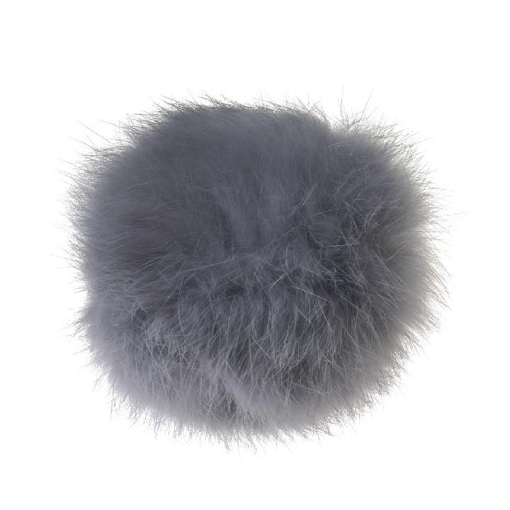 Помпон из меха кролика 5 см