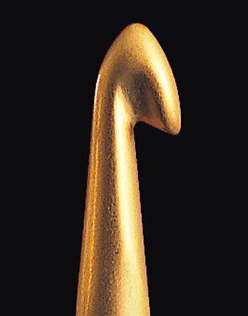 Крючок вязальный алюминий 6.0 мм Clover